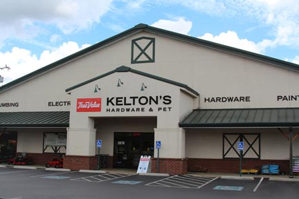 Kelton's Hardware and Pet Store Front — Murfreesboro, Tennessee — Old Fort Parkway — Highway 96